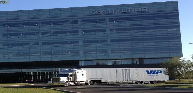 Vip Transport Relocates Hyundai Motor Co To New 200m Headquarters
